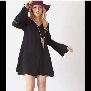 Dynamite Flare Black Dress